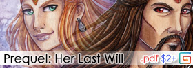 Her Last Will - Prequel about the queen Iris!