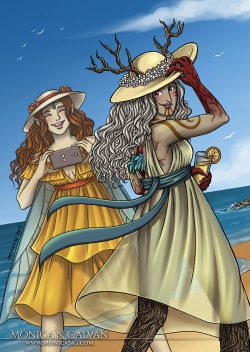 Alherani and Farian - Beachzine 2018