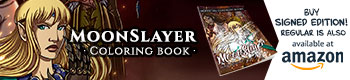 MoonSlayer Coloringbook